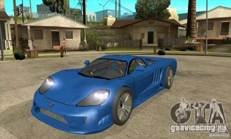 Saleen S7 Twin Turbo Custom Tuned для GTA San Andreas