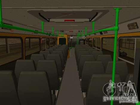 ЛиАЗ 5256.26-01 для GTA San Andreas вид сзади