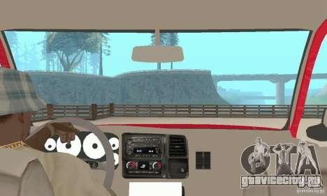 Chevrolet Tahoe 1992 для GTA San Andreas вид сзади