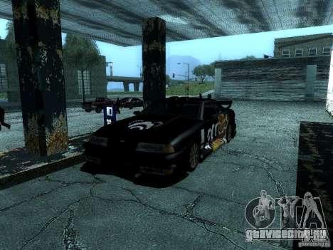 Винил Биг-Лу из Most Wanted для GTA San Andreas вид изнутри