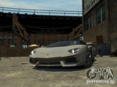 Lamborghini Aventador LP700-4 EPM для GTA 4 вид сзади