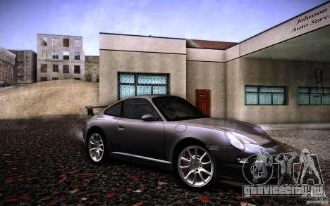Porsche 911 GT3 (997) 2007 для GTA San Andreas вид справа