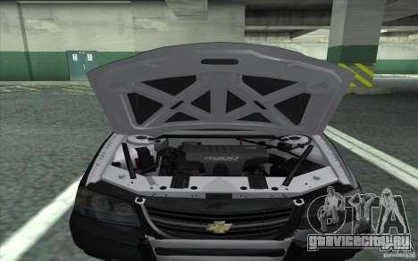 Chevrolet Impala 2003 SFPD для GTA San Andreas вид справа
