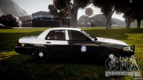 Ford Crown Victoria 2003 Florida CVPI [ELS] для GTA 4 вид изнутри