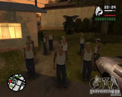 Cj Гопник для GTA San Andreas