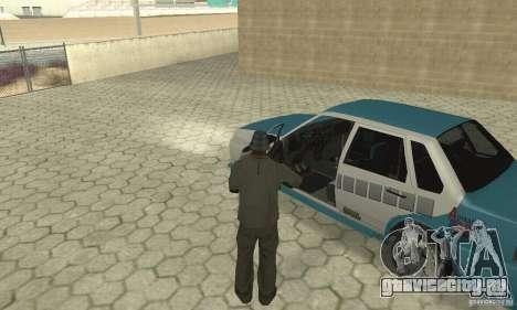 ВАЗ 21099 PROstreet v.2 для GTA San Andreas вид справа