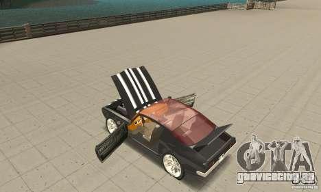 Pontiac Flamingo для GTA San Andreas вид изнутри