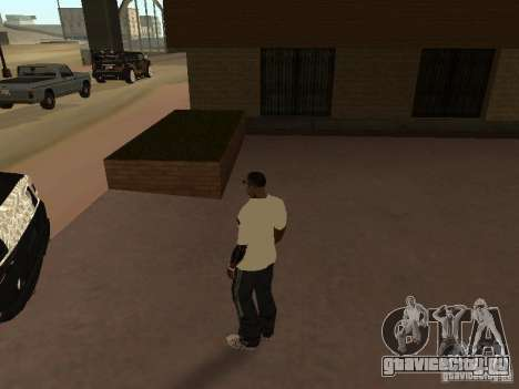 Майка Аdidas для GTA San Andreas второй скриншот