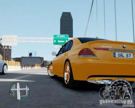 BMW Alpina B7 для GTA 4 вид слева