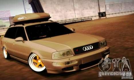 Audi RS2 Avant Thug для GTA San Andreas вид справа