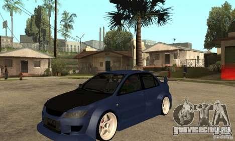 Mitsubishi Lancer 2006 Tuned для GTA San Andreas