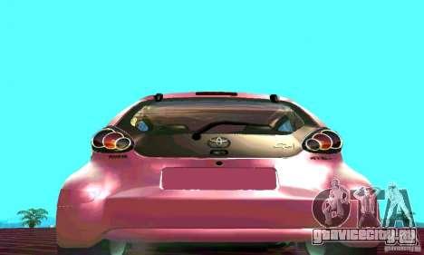 Toyota Aygo V1.0 для GTA San Andreas вид справа