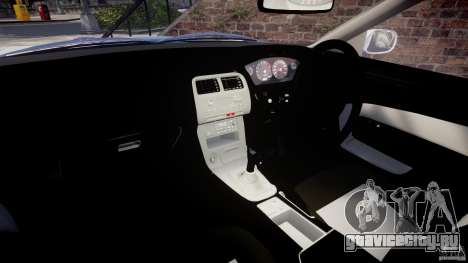 Nissan Silvia S14 [EPM] для GTA 4 вид сзади