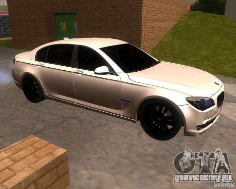 BMW 750Li 2010 для GTA San Andreas вид слева