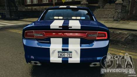 Dodge Charger Unmarked Police 2012 [ELS] для GTA 4 двигатель