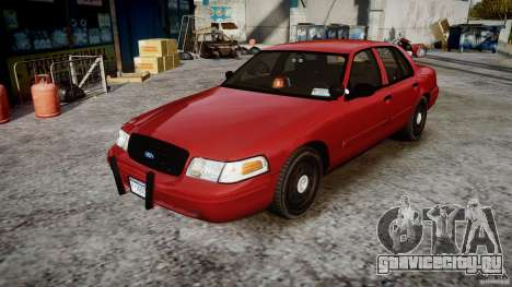 Ford Crown Victoria Detective v4.7 red lights для GTA 4