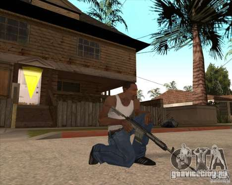 CoD:MW2 weapon pack для GTA San Andreas десятый скриншот