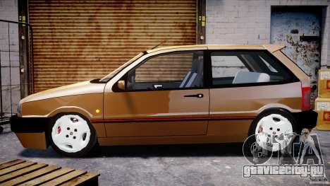 Fiat Tipo 1990 для GTA 4 вид изнутри