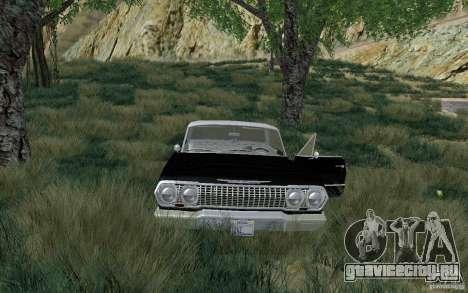 Chevrolet Impala 4 Door Hardtop 1963 для GTA San Andreas вид слева