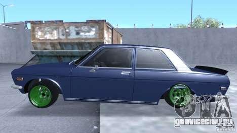 Datsun 510 Drift для GTA San Andreas вид слева