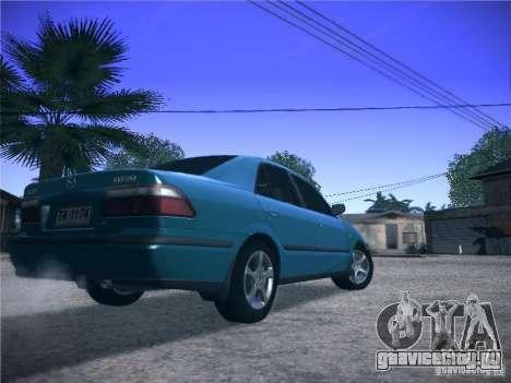 Mazda 626 GF 1999 для GTA San Andreas вид сзади