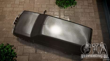 Cavalcade FBI car для GTA 4 вид справа