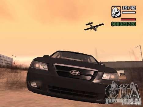Hyundai Sonata Edit для GTA San Andreas