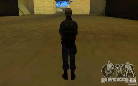 HQ skin S.W.A.T для GTA San Andreas четвёртый скриншот