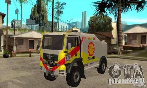 MAN TGA Rally OFFROAD для GTA San Andreas