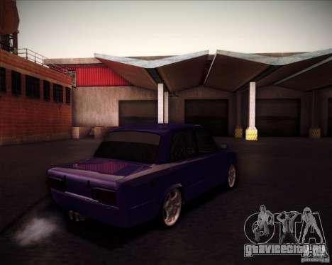 ВАЗ 2106 drift для GTA San Andreas вид сзади
