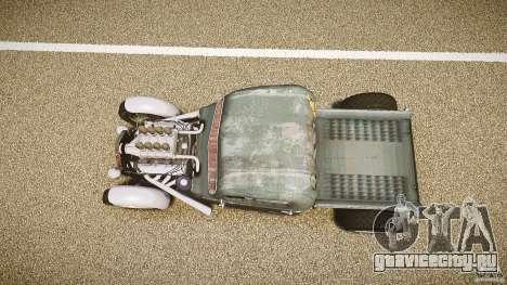 Ford Ratrod 1936 для GTA 4 вид справа