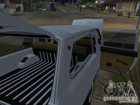 ГАЗ 24-02 для GTA San Andreas вид справа