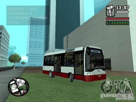 Ikarus Е91 для GTA San Andreas вид слева
