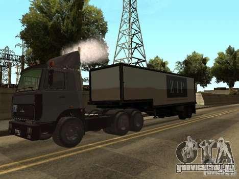 МАЗ 5336 тягач для GTA San Andreas вид справа