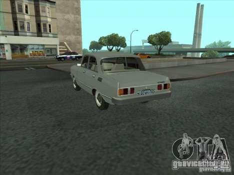 Москвич 2140 SL для GTA San Andreas вид сзади слева