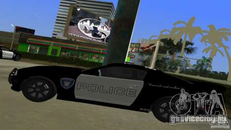 Saleen S281 Barricade 2007 для GTA Vice City вид сзади