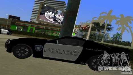 Saleen S281 Barricade 2007 для GTA Vice City вид сзади
