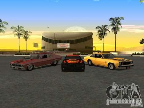 Chevrolet Camaro NOS для GTA San Andreas вид сзади