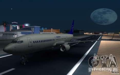 Sukhoi SuperJet-100 для GTA San Andreas