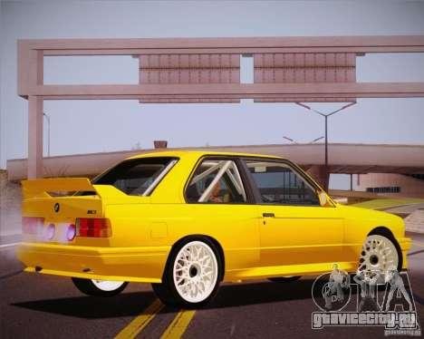 BMW M3 E30 для GTA San Andreas вид сбоку