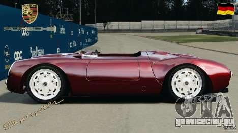 Porsche 550 A Spyder 1956 v1.0 для GTA 4 вид слева