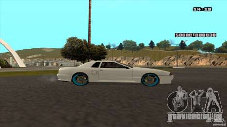 Drift Elegy by KaLaSh для GTA San Andreas вид справа