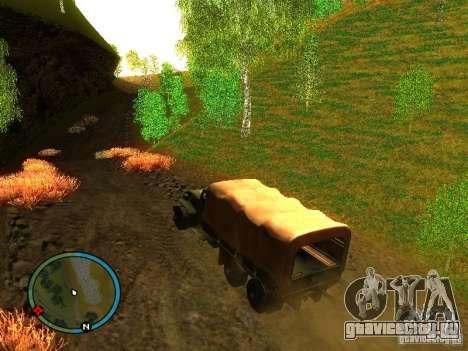 Millitary Truck from Mafia II для GTA San Andreas вид слева