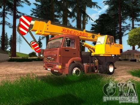 КамАЗ 6520 КС3577-3К Ивановец для GTA San Andreas