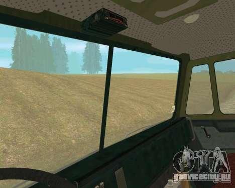 КамАЗ 6350 для GTA San Andreas вид сзади