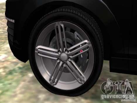 Audi Q7 V12 TDI Quattro Final для GTA 4 вид снизу
