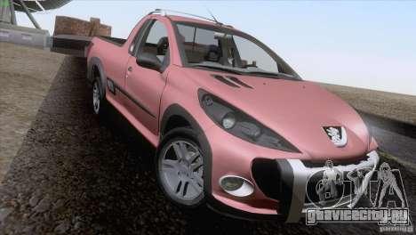 Peugeot Hoggar Escapade 2010 для GTA San Andreas