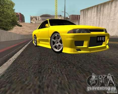 Nissan Skyline R32 Bee R для GTA San Andreas вид сзади слева