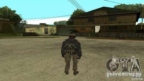 Captain Price для GTA San Andreas третий скриншот