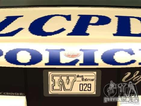 Полиция из гта4 для GTA San Andreas салон